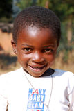 African children suffering from AIDS virus in the Village of Pom Stock Images