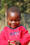 African children suffering from AIDS virus in the Village of Pom Stock Photo