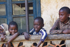 African children from Uganda Royalty Free Stock Photo