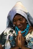 African Christian woman Royalty Free Stock Photo