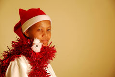 African christmas Royalty Free Stock Photo