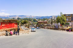 African city Addis Ababa Stock Images