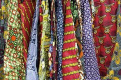African Cloth Patterns Stock Photos
