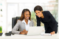 African colleagues working Royalty Free Stock Photo
