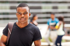 African college boy Royalty Free Stock Photo