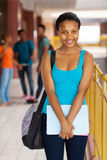 African college girl Stock Photo