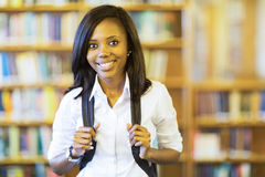 African college girl Stock Photos