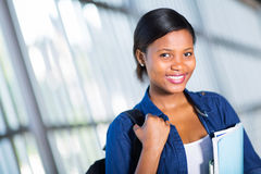 African college student Stock Image