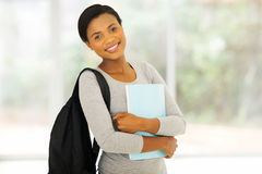 african college student book Royalty Free Stock Photography