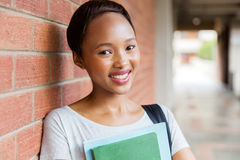 African college student books Stock Photo