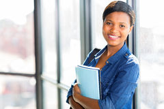 African college student campus Stock Photography