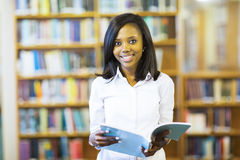 African college student Royalty Free Stock Photography