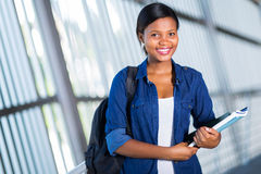 African college student Royalty Free Stock Photos