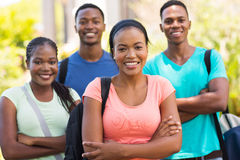 African college students Stock Image