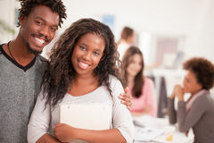 African College Students Smiling Stock Photos