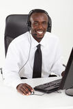 African consultant Royalty Free Stock Photography