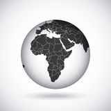 African continent  design. Illustration eps10 graphic Stock Photos