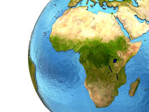 African continent on Earth Stock Photo
