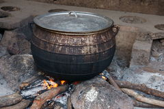 African Cooking Pot Royalty Free Stock Photography