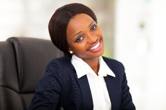 African corporate worker Stock Photos