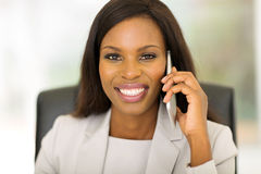 African corporate worker Stock Image