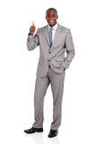 african corporate worker Royalty Free Stock Photo