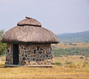 African Cottage Royalty Free Stock Photos