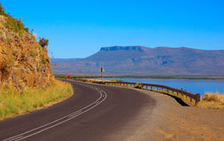 African country road royalty free stock photos
