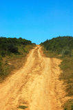 African country road Royalty Free Stock Image