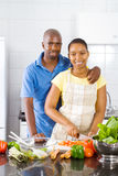 African couple Royalty Free Stock Photo