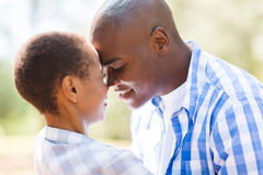 African couple flirting Stock Photography
