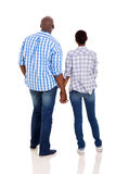 African couple holding hands Stock Image