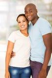 African couple home Stock Photos