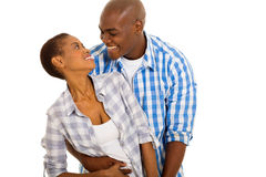 African couple looking Royalty Free Stock Images