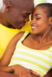 African couple love Royalty Free Stock Images