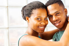 African couple portrait Stock Photography