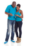 African couple pregnancy Stock Photography