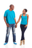 African couple standing Royalty Free Stock Photo