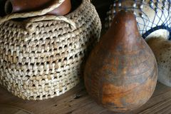 African Craftwork Royalty Free Stock Photography