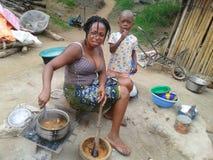 AFRICAN CUISINE Stock Photo