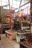 African Curio Market Stock Photo
