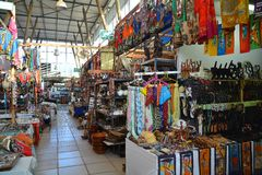 African Curio Market Royalty Free Stock Image