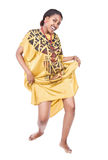 African dancer Royalty Free Stock Image