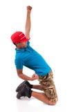 African dancer breakdance Stock Photo