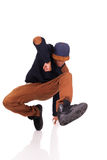 African dancer breakdance Royalty Free Stock Photo
