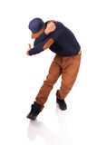 African dancer breakdance Royalty Free Stock Photography