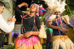 African Dancer Royalty Free Stock Photography