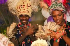 African Dancer Stock Image