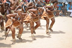 AFRICAN DANCERS royalty free stock image