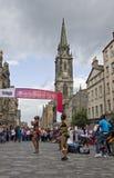 African Dancers on Edinburgh Festival Stock Images